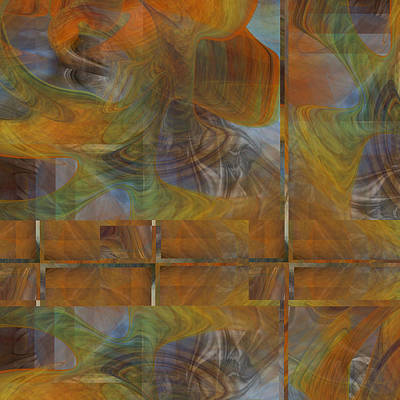 Digital Art - Crossings - 022 by rd Erickson