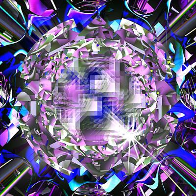 Digital Art - Jewel - 025 by rd Erickson