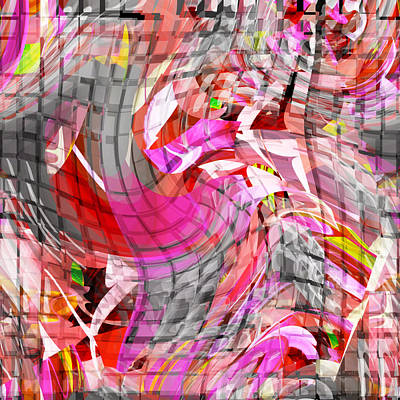 Digital Art - The Silken Scarf - 030 by rd Erickson