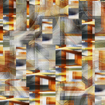 Digital Art - A Multitude Of Windows - 033 by rd Erickson