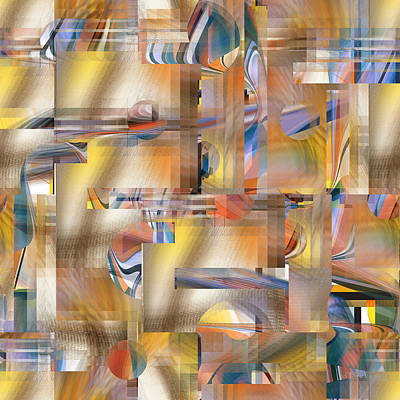 Digital Art - Abstract Number 048 by rd Erickson