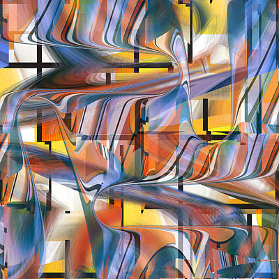 Digital Art - Abstract Number 049 by rd Erickson
