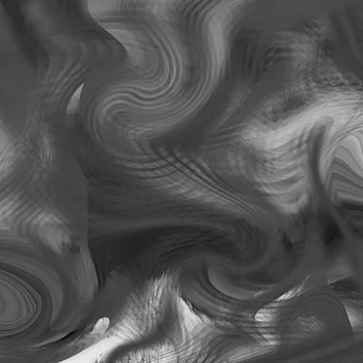 Digital Art - Smoke - 053 by rd Erickson