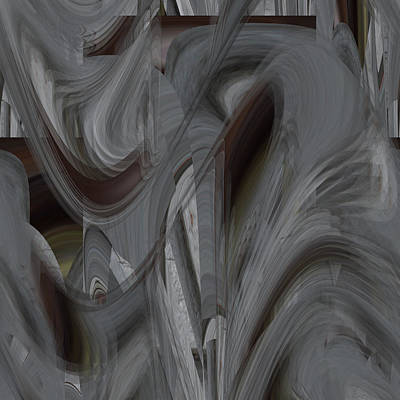 Digital Art - Organic Ash - 057 by rd Erickson