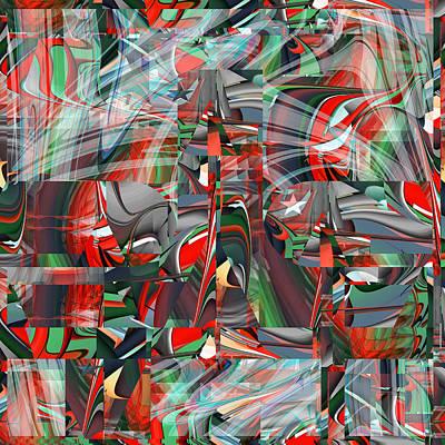 Digital Art - Winning Confetti - 059 by rd Erickson