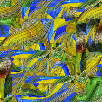 Digital Art - Corn Dance - .65 by rd Erickson