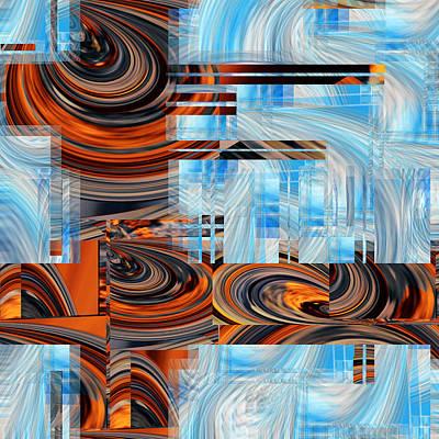 Digital Art - Totem 1 - 066 by rd Erickson
