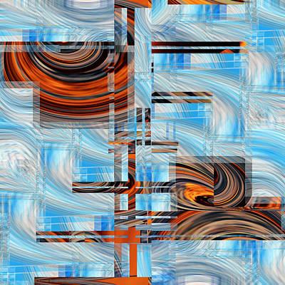 Digital Art - Totem 2 - .67 by rd Erickson