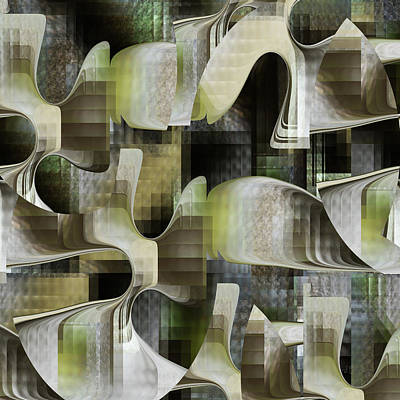Digital Art - Tubes - 069 by rd Erickson