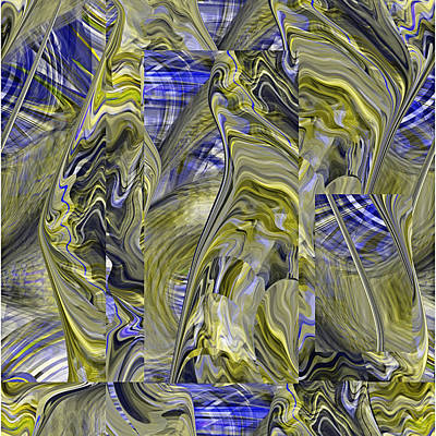 Digital Art - Oyster Abstract - 072 by rd Erickson