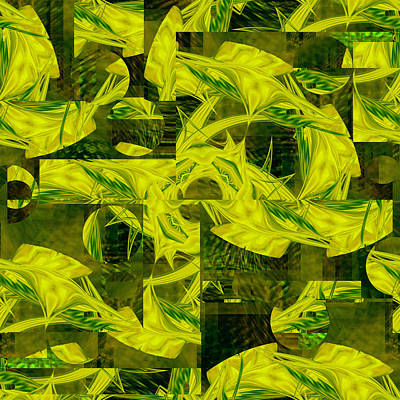 Digital Art - Jungle - 078 by rd Erickson
