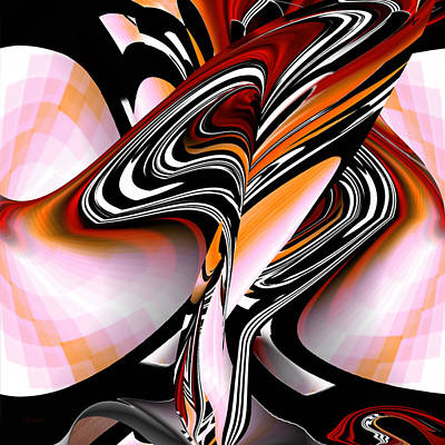Digital Art - Abstract Number 094 - Fine Art Digital Abstract by rd Erickson