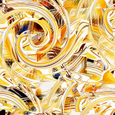 Digital Art - Abstract Number 097 - Fine Art Digital Abstract by rd Erickson