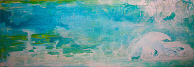 Painting - Abstract Ocean 2 by Stephanie  Kriza