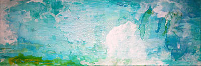 Painting - Abstract Ocean by Stephanie  Kriza
