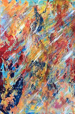 Abstract Painting Print by AR Annahita