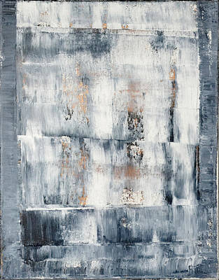 Abstract Painting No. 1 Art Print by Julie Niemela