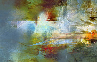 Painting - Abstract Painting - Psalms by Jean Moore