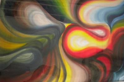 Painting - Abstract Painting Saga Of Life by Rohini Yadawar