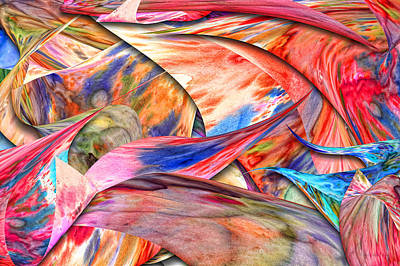 Mixed Media - Abstract - Paper - Origami by Mike Savad