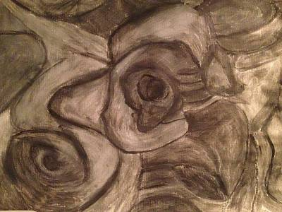 Drawing - Abstract by Paula Brown