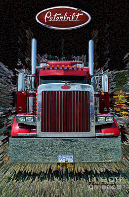 Abstract Royalty-Free and Rights-Managed Images - Abstract Peterbilt by Randy Harris