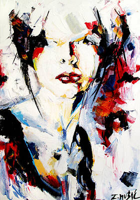 Abstract Portrait  Original by Zlatko Music