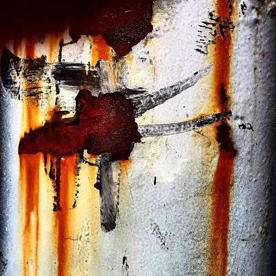 Abstract Wall Art - Photograph - Abstract Post by Jason Michael Roust