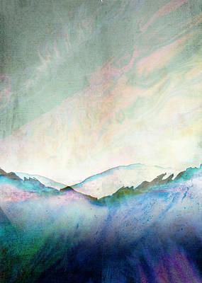 Sun Rays Digital Art - Abstract Print 23 by Filippo B