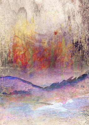 Sun Rays Digital Art - Abstract Print 24 by Filippo B