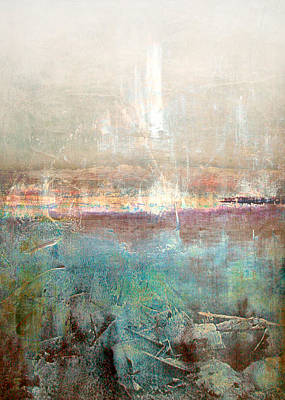Sun Rays Digital Art - Abstract Print 27 by Filippo B