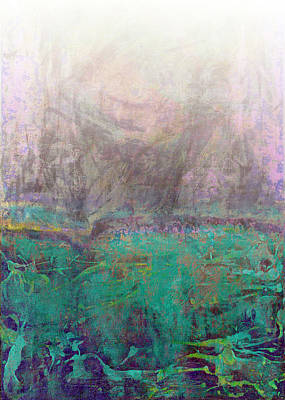 Sun Rays Digital Art - Abstract Print 28 by Filippo B