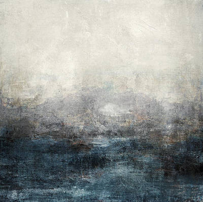 Abstract Seascape Mixed Media - Abstract Print 9 by Filippo B