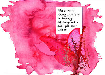 Abstract Quote 3 Art Print
