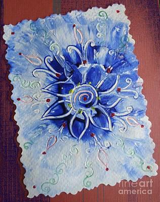 Painting - Abstract Rangoli by Anjali Vaidya