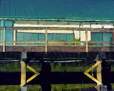 Photograph - Abstract Reflections by Patricia Strand