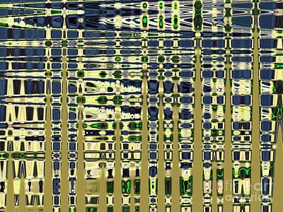Photograph - Abstract Reflections Series Nine  Tone 1 by Nina Silver