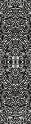 Digital Art - Abstract Rhythm - 18 by Hanza Turgul