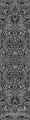 Digital Art - Abstract Rhythm - 19 by Hanza Turgul