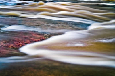 Photograph - Abstract River by Patrick M Lynch