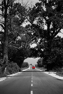 Photograph - Abstract Road  by Svetoslav Sokolov