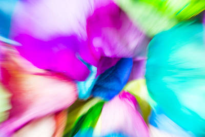 Digital Art - Abstract Rose Blooms by Susan Stone