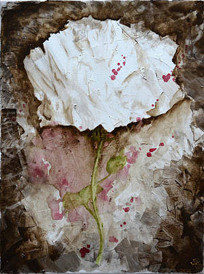 Painting - Abstract Rose by Jakub DK