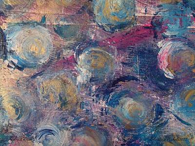 Painting - Abstract Roses I by Christine Nichols