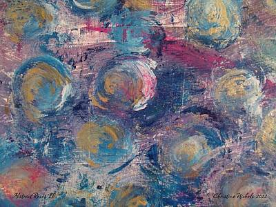 Painting - Abstract Roses II by Christine Nichols