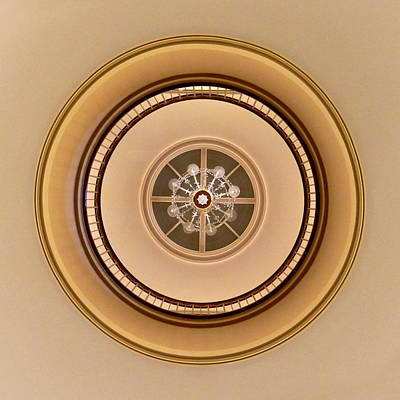 Photograph - Abstract - Rotunda 1 by Richard Reeve