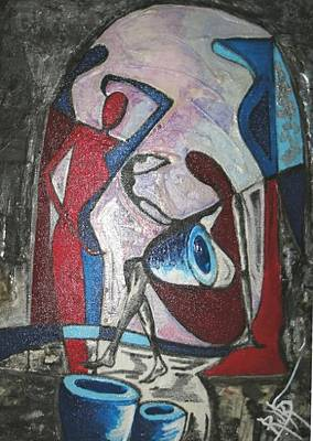 Painting - Abstract  by Rukshana Hooda