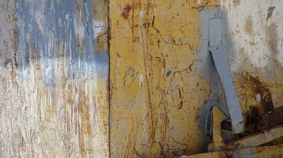 Photograph - Abstract Rust 7 by Anita Burgermeister