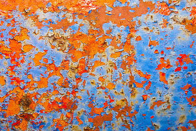 Abstract - Rust And Metal Series Art Print by Mark Weaver