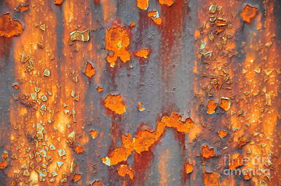 Photograph - Abstract Rust by Randi Grace Nilsberg